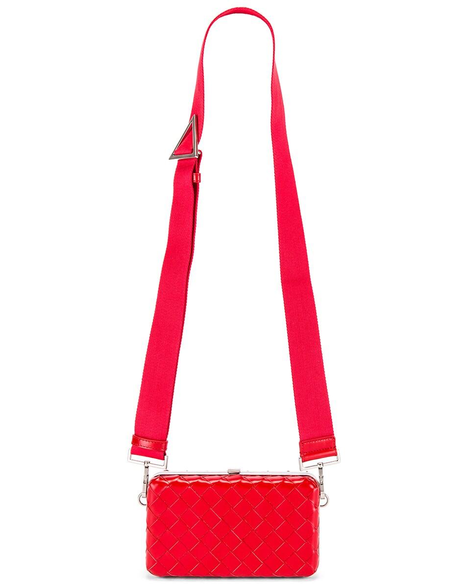 Image 5 of Bottega Veneta Shoulder Bag in Bright Red