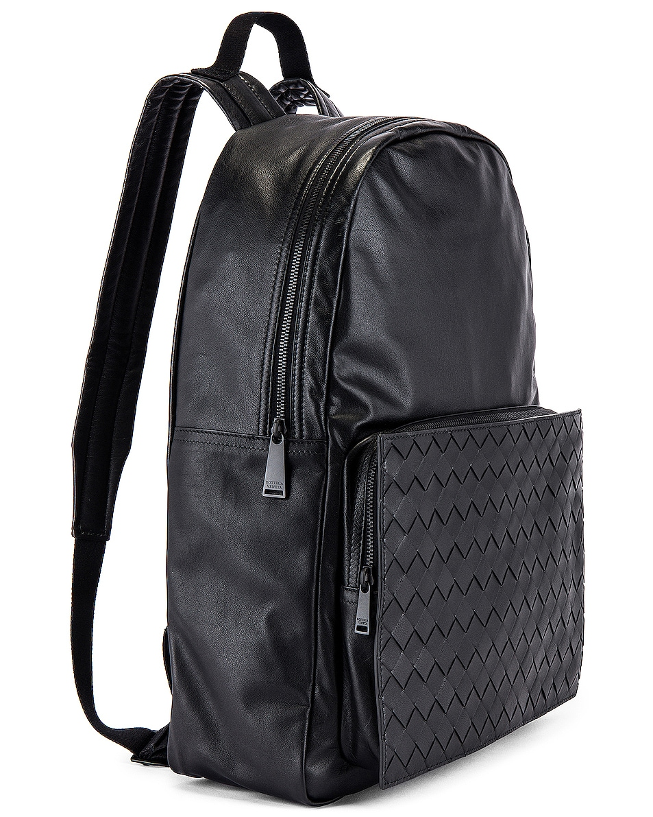 Image 3 of Bottega Veneta Backpack in Nero