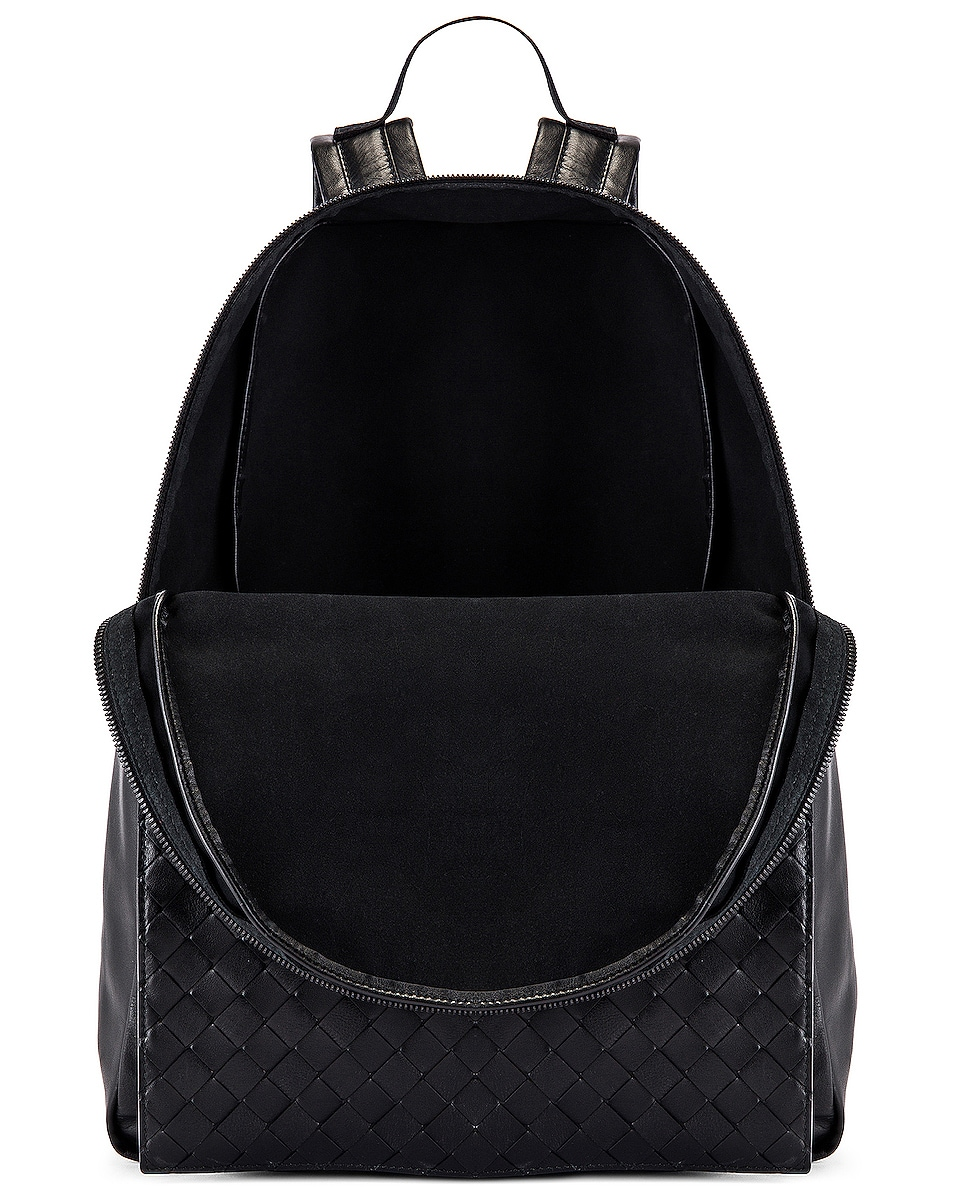 Image 4 of Bottega Veneta Backpack in Nero