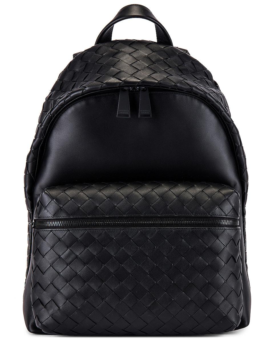 Image 1 of Bottega Veneta Backpack in Nero & Nero
