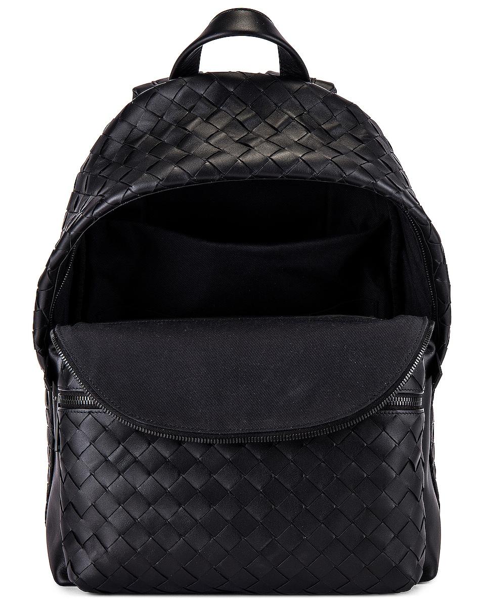 Image 4 of Bottega Veneta Backpack in Nero & Nero