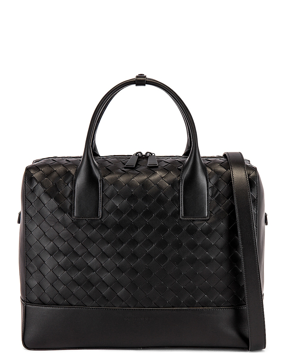 Image 1 of Bottega Veneta Duffle Bag in Nero