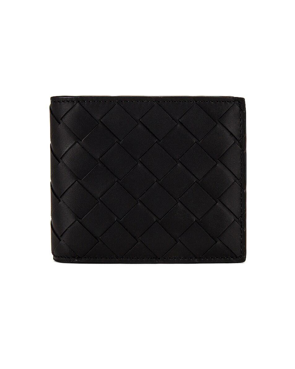 Image 1 of Bottega Veneta Leather Wallet in Black