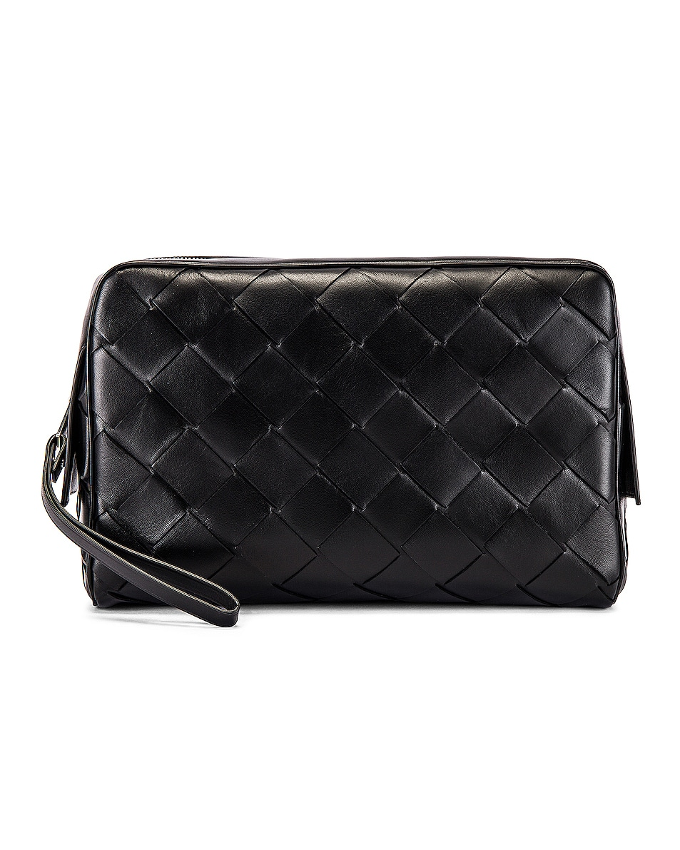 Image 1 of Bottega Veneta Pouch in Black