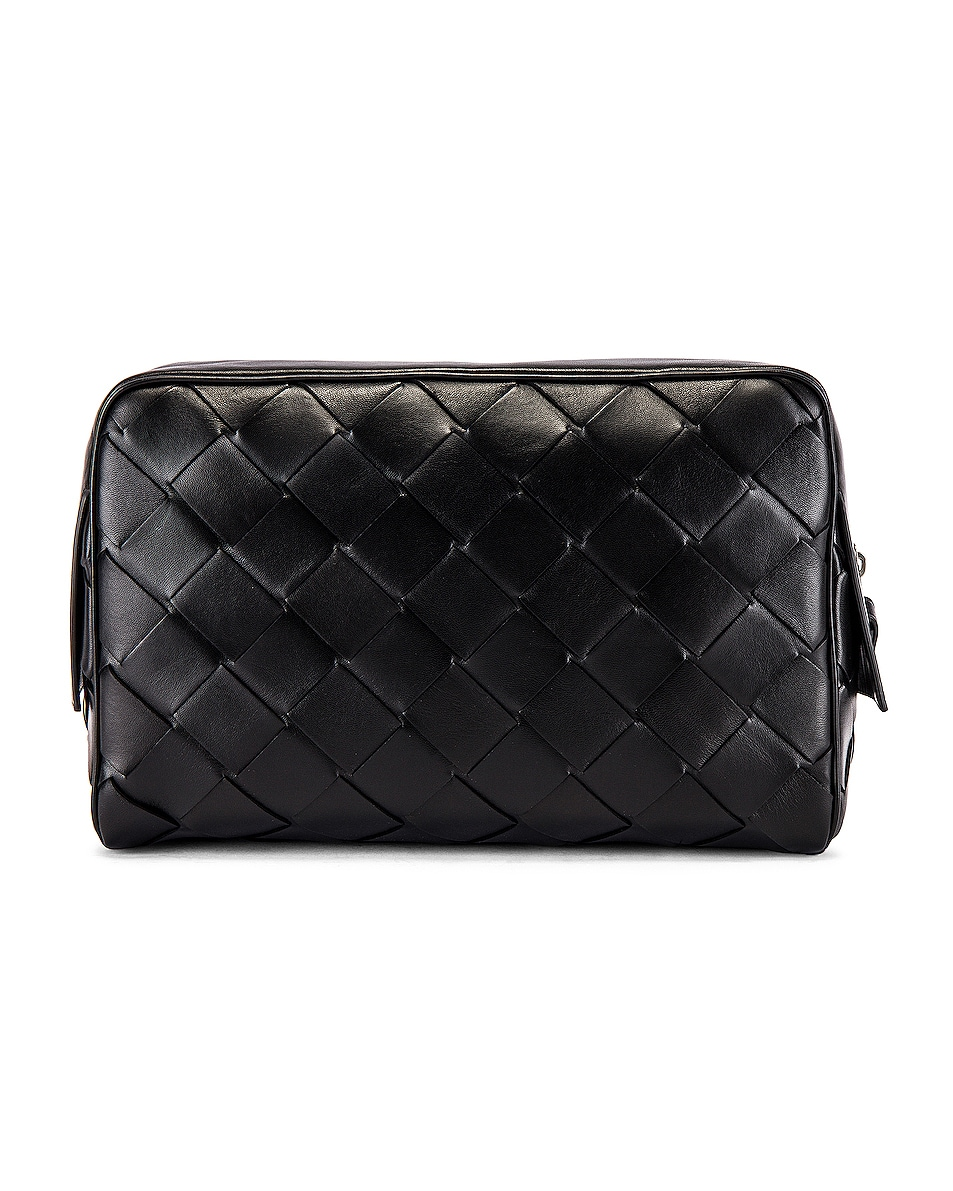 Image 2 of Bottega Veneta Pouch in Black