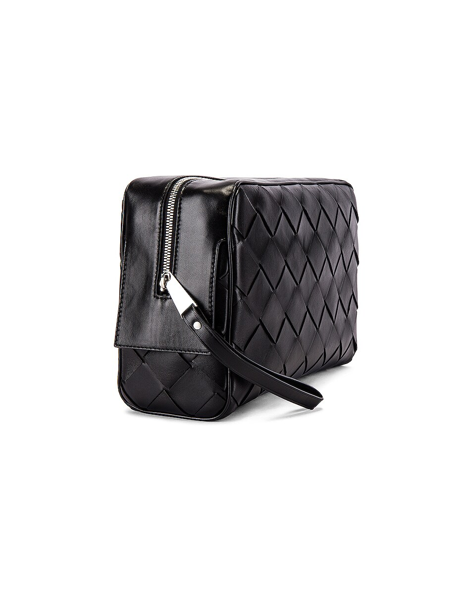 Image 3 of Bottega Veneta Pouch in Black