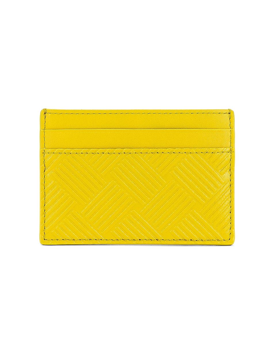Image 1 of Bottega Veneta Cardholder in Mirabelle & Silver