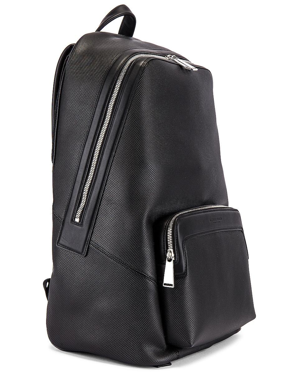 Image 3 of Bottega Veneta Marco Polo Backpack in Black