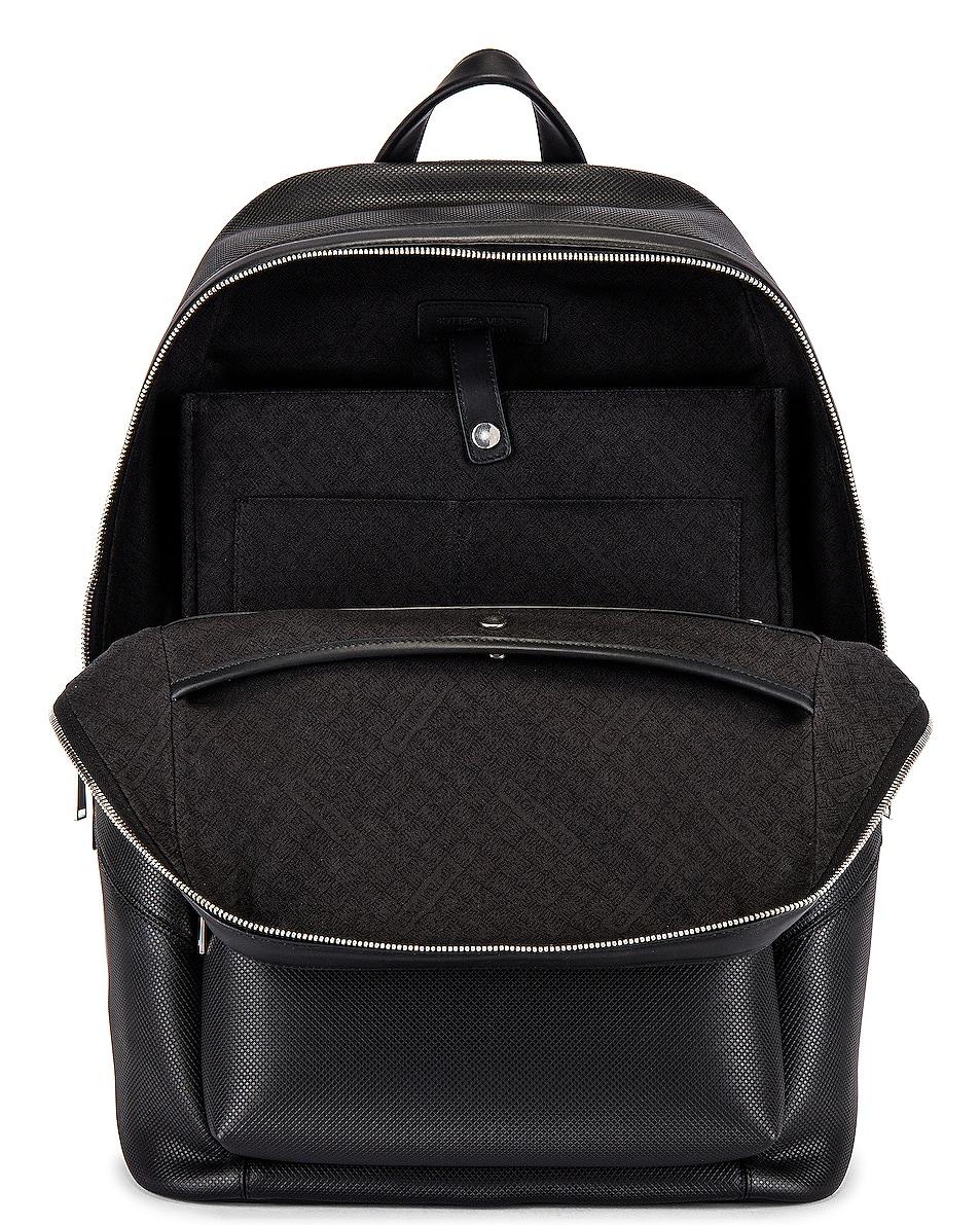 Image 4 of Bottega Veneta Marco Polo Backpack in Black