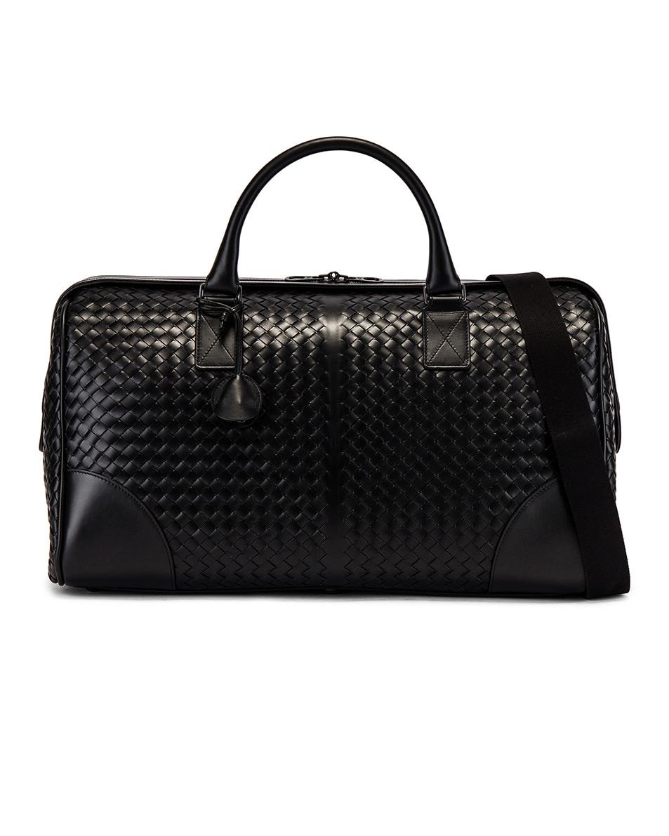 Image 1 of Bottega Veneta Duffel Bag in Black