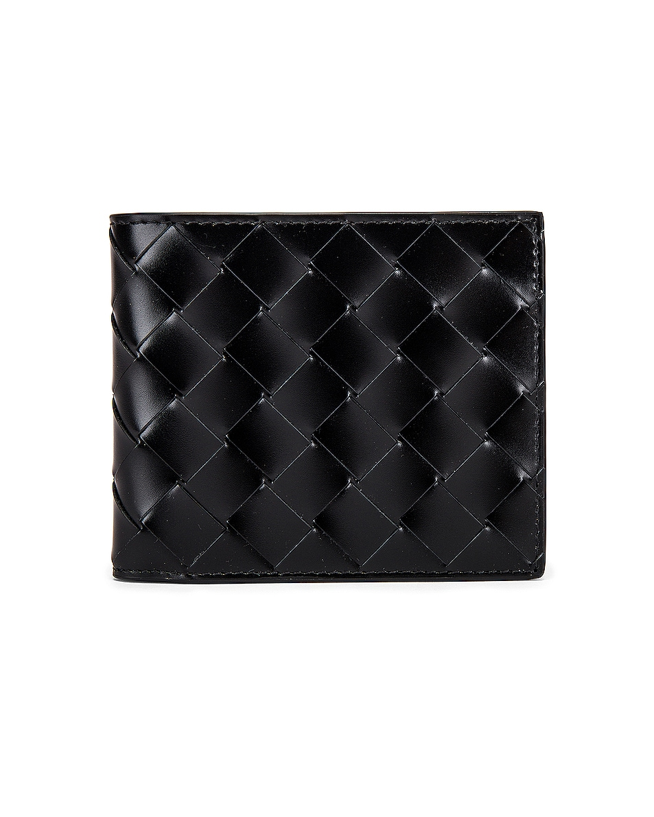 Image 1 of Bottega Veneta Billfold Wallet in Black