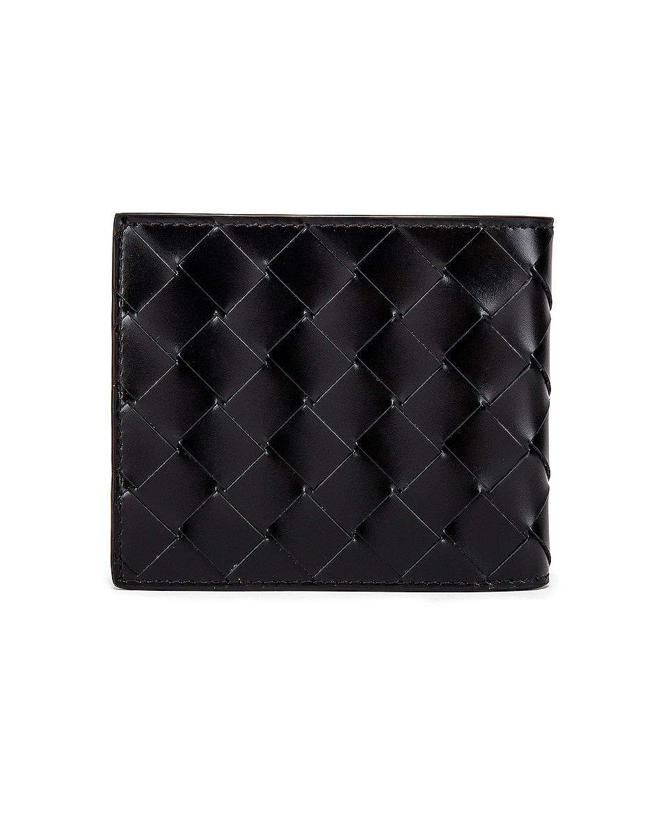 Image 2 of Bottega Veneta Billfold Wallet in Black