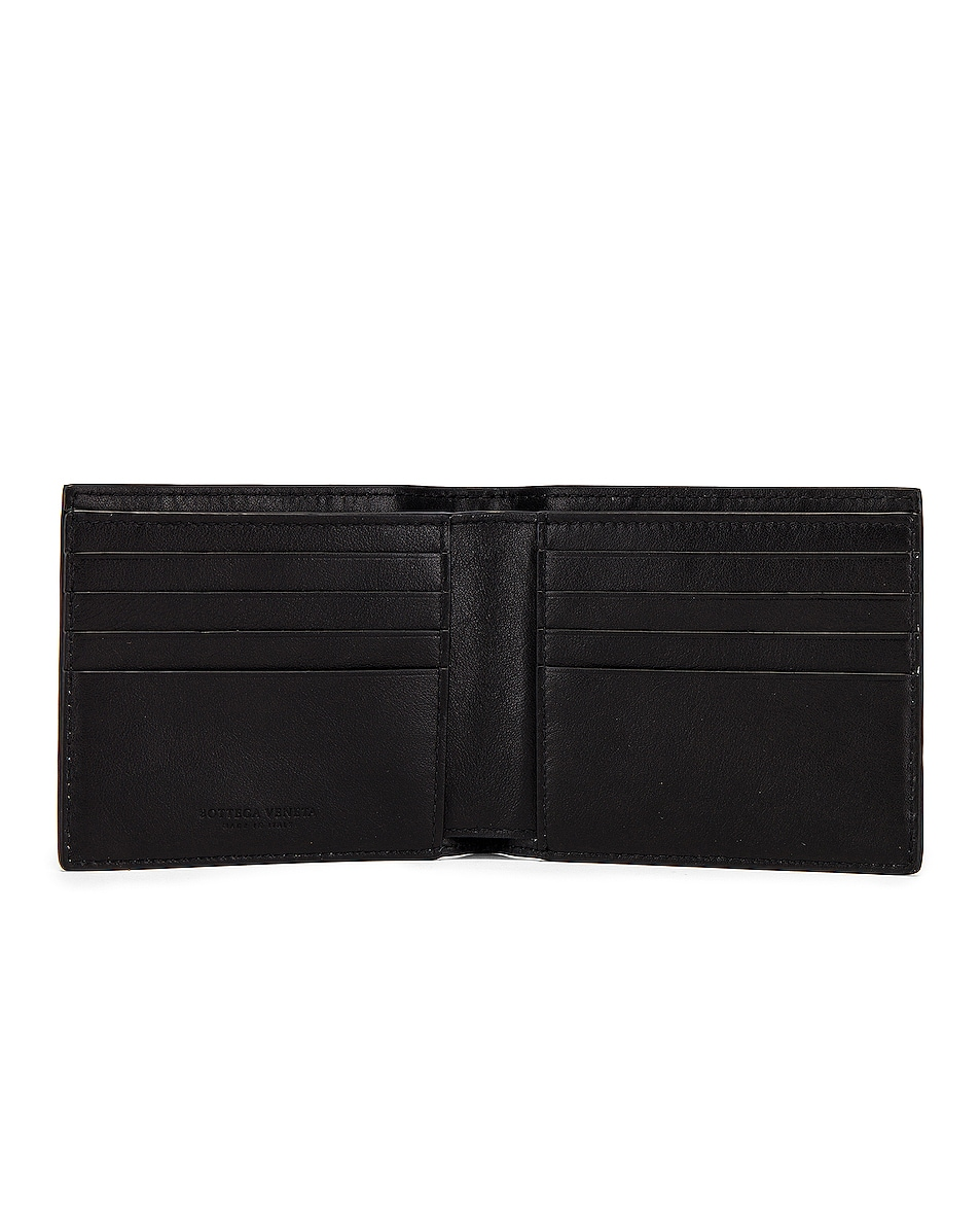 Image 4 of Bottega Veneta Billfold Wallet in Black