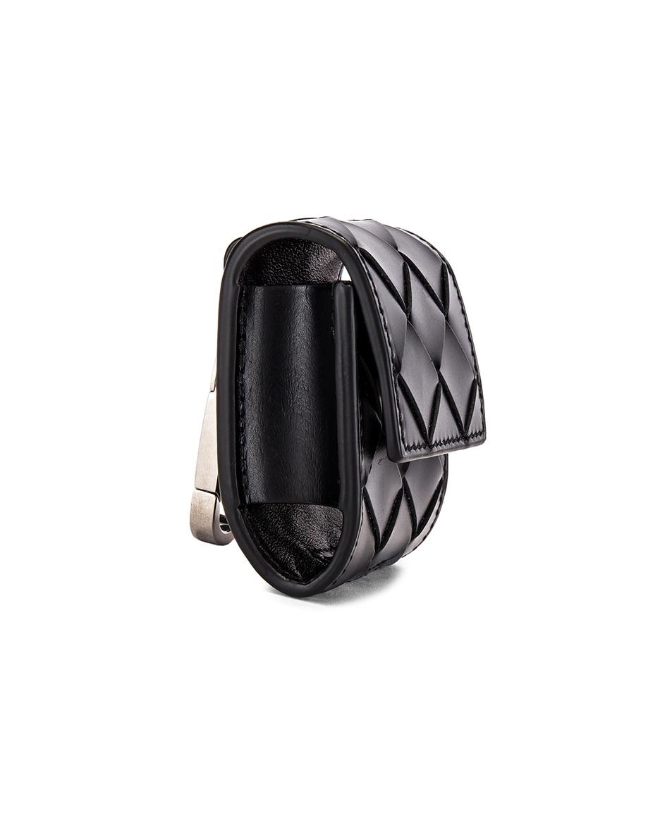 Image 3 of Bottega Veneta Airpod Case in Black