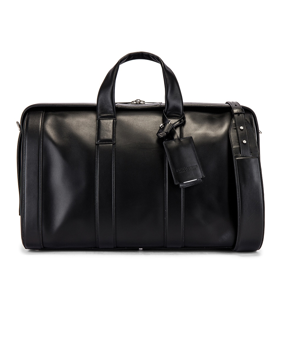 Image 1 of Bottega Veneta Duffel Bag in Black