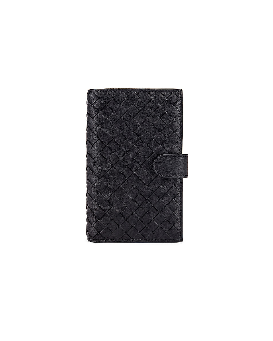 Image 1 of Bottega Veneta Leather Wallet in Black