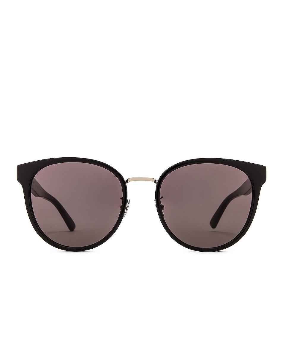 Image 1 of Bottega Veneta Cat Eye Sunglasses in Black