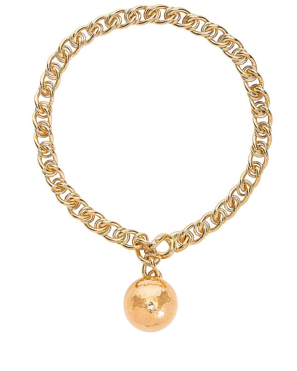 Image 1 of Bottega Veneta Necklace in Argento Oro Giallo