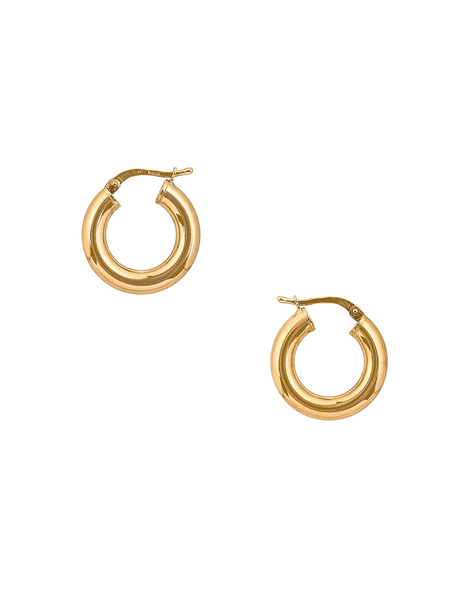 Image 1 of Bottega Veneta Orecchini Earrings in Yellow Gold