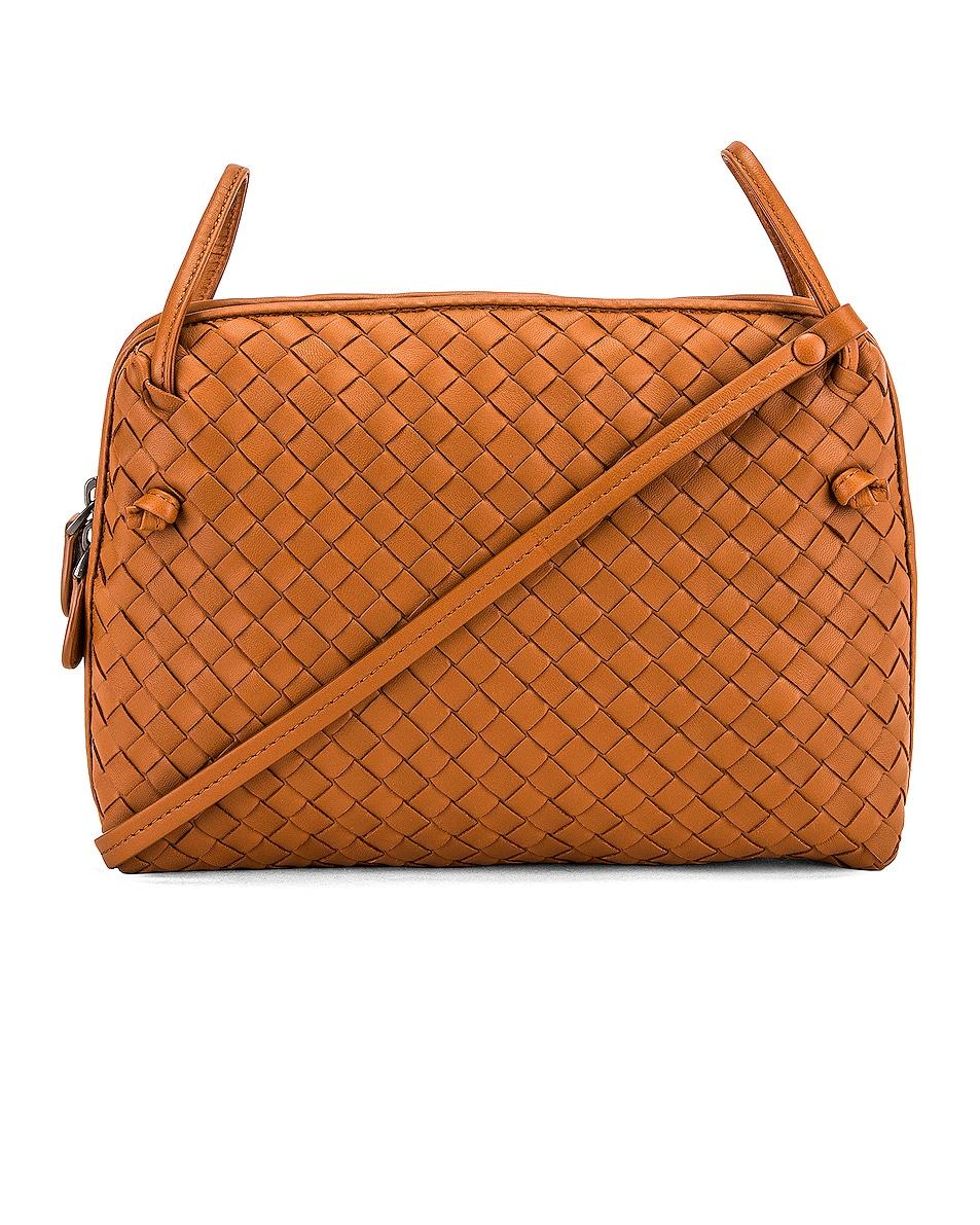 Image 1 of Bottega Veneta Woven Shoulder Bag in Wood