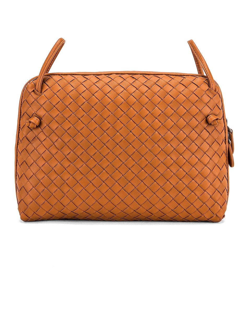 Image 3 of Bottega Veneta Woven Shoulder Bag in Wood
