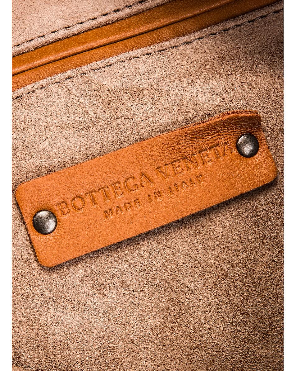 Image 7 of Bottega Veneta Woven Shoulder Bag in Wood