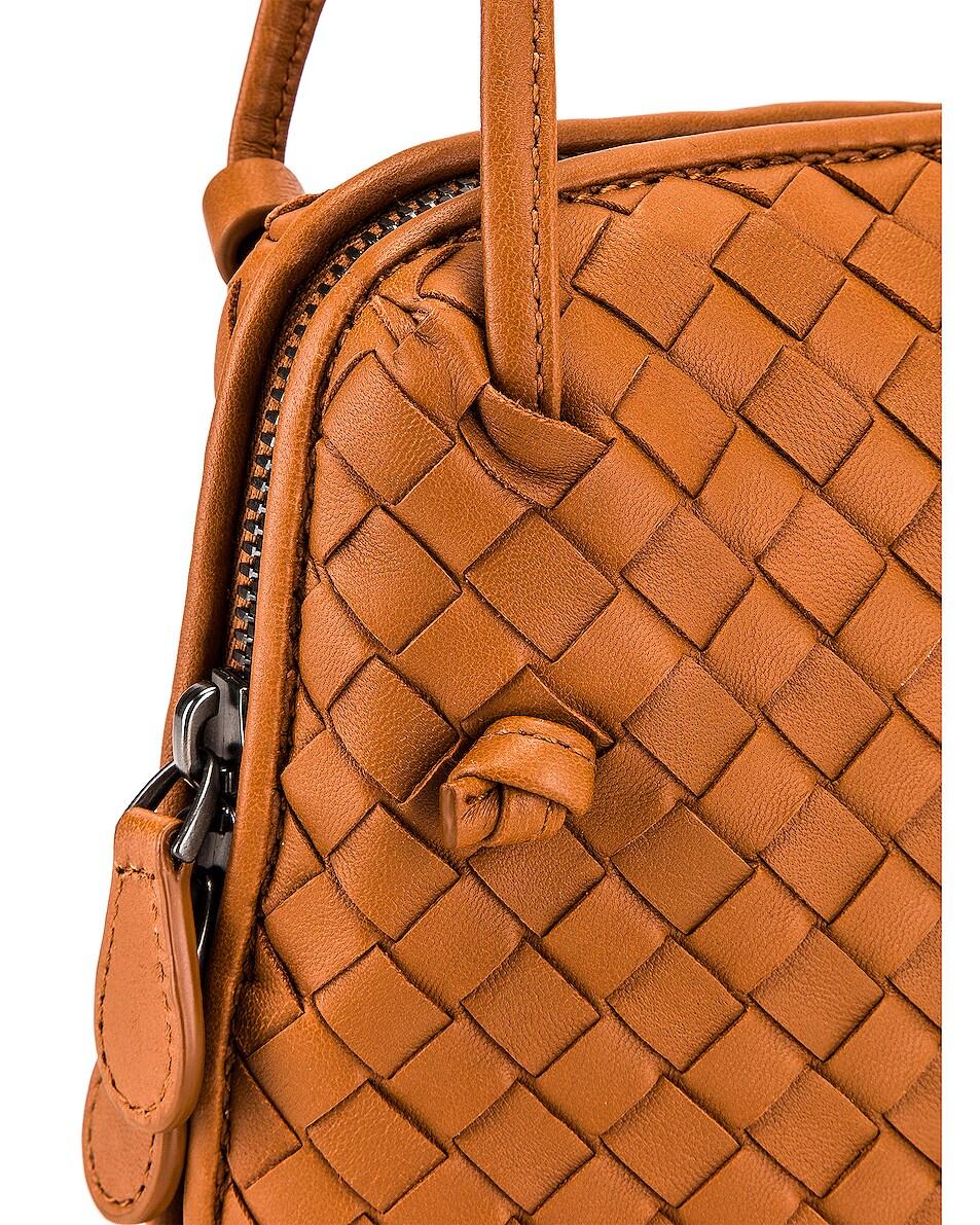 Image 8 of Bottega Veneta Woven Shoulder Bag in Wood
