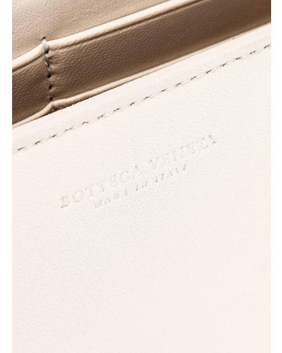 Image 7 of Bottega Veneta Woven Leather Crossbody Bag in Plaster