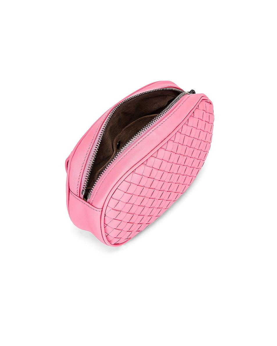 Image 4 of Bottega Veneta Woven Belt Bag in Rosa