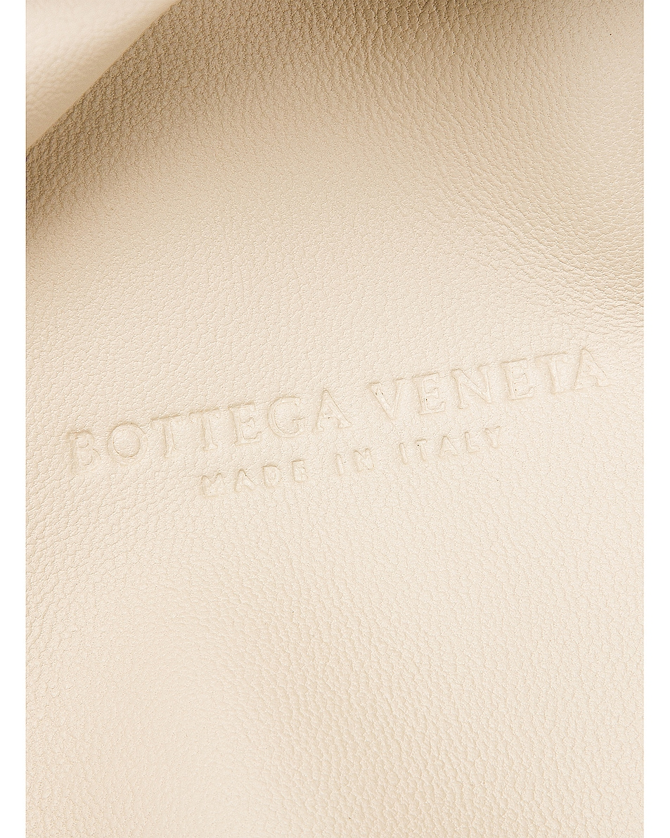 Image 6 of Bottega Veneta Wrinkled The Pouch Clutch in Gold