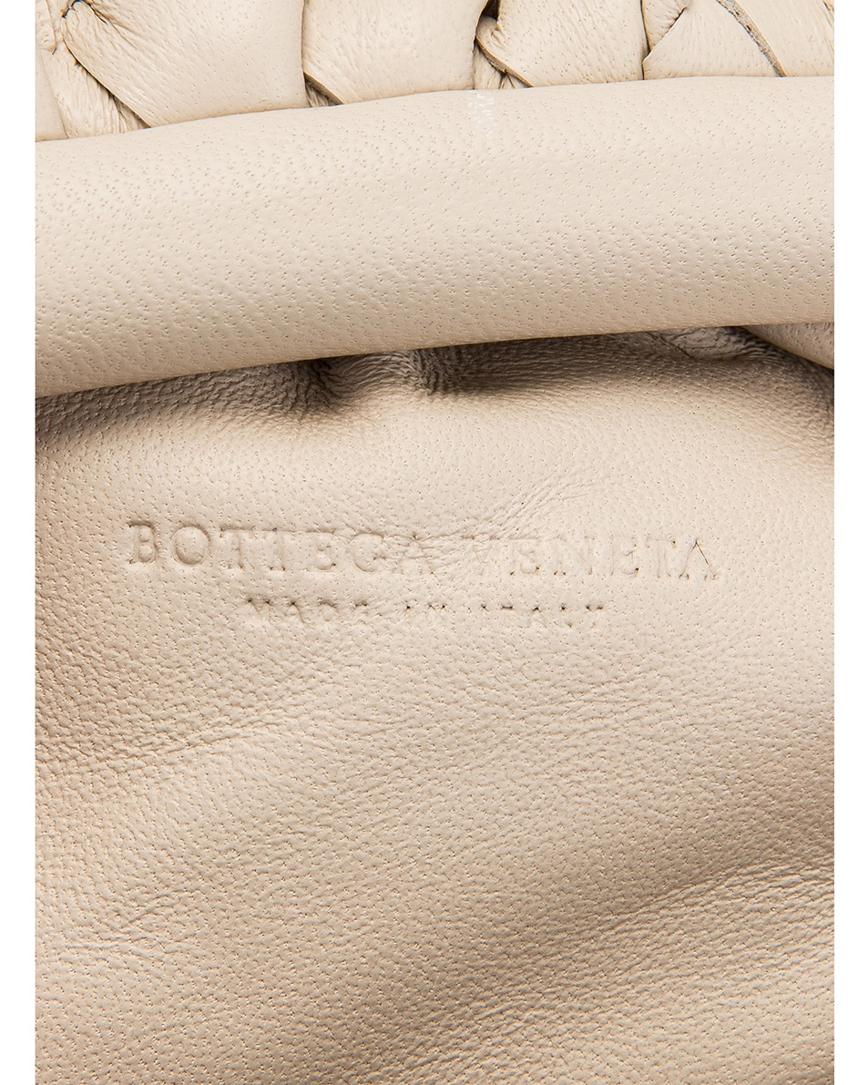 Image 7 of Bottega Veneta Small Woven Pouch in Mist
