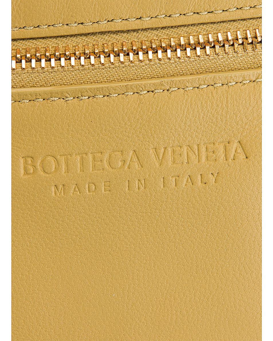 Image 7 of Bottega Veneta Padded Cassette Bag in Tapioca & Gold
