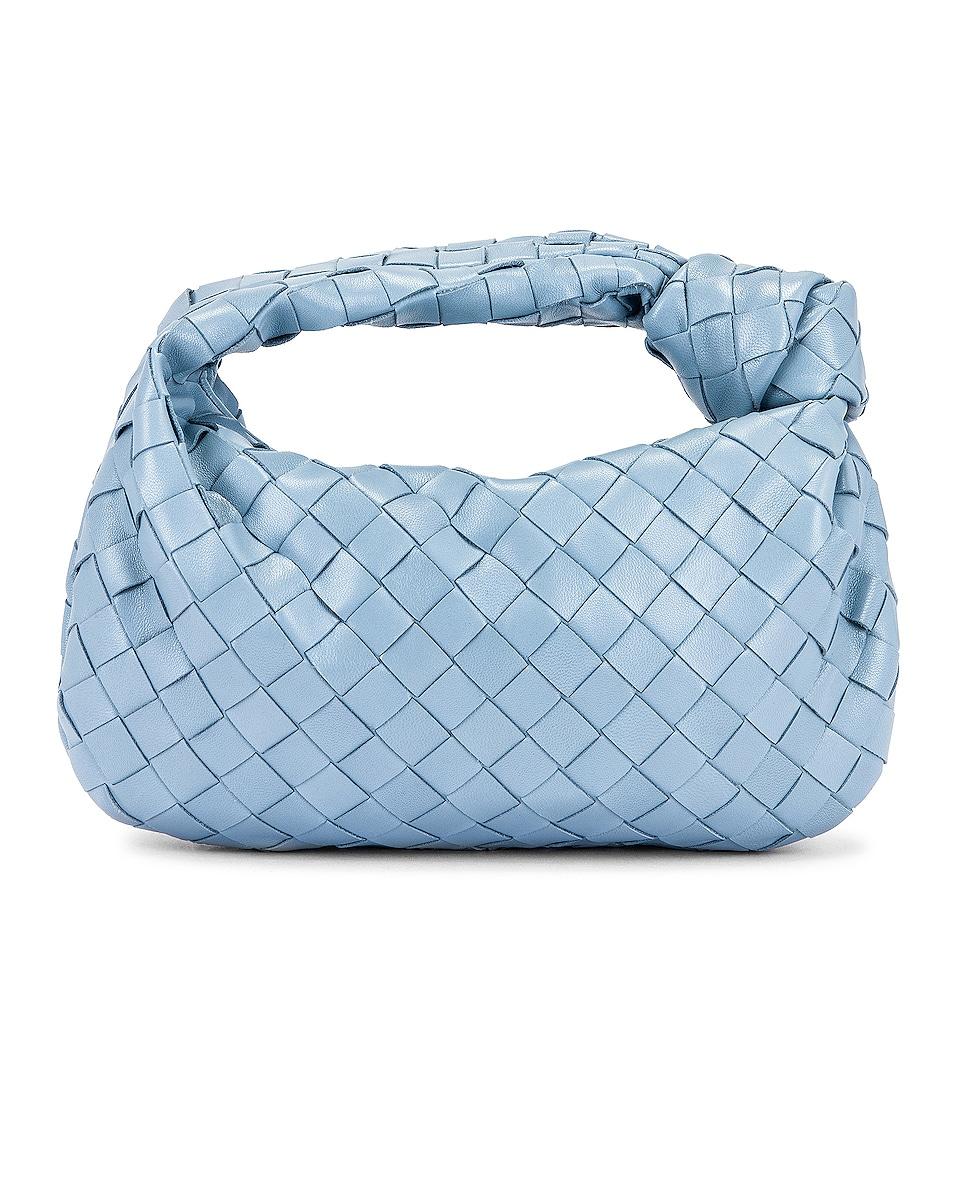 Image 3 of Bottega Veneta Woven Shoulder Bag in Ice & Silver
