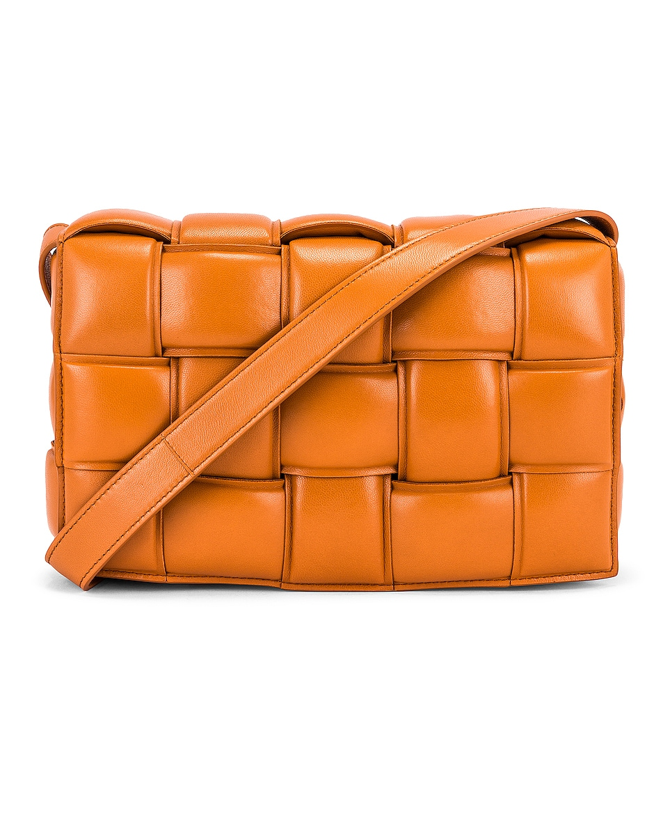 BV Padded Cassette Bag Grape Gold - Image Group