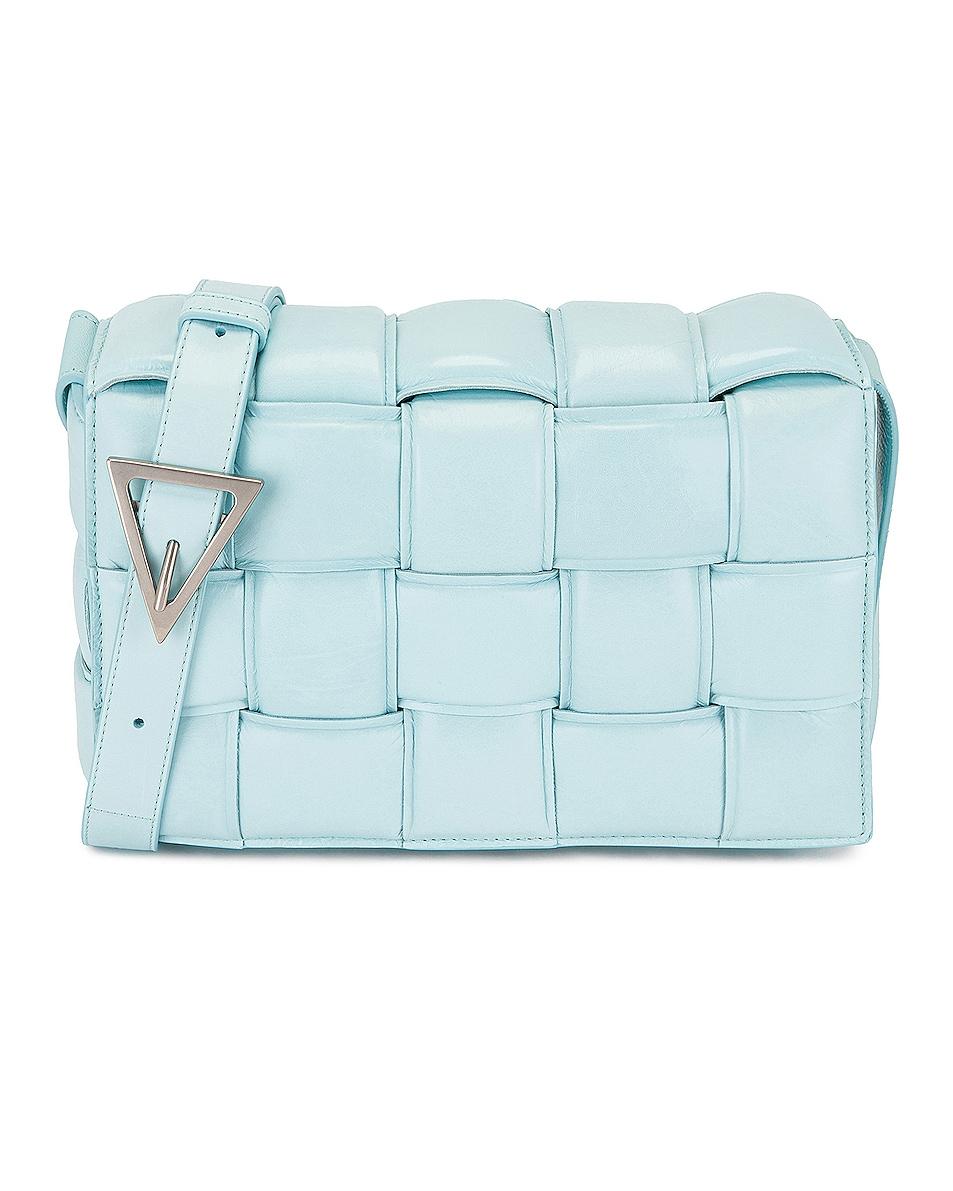 Image 1 of Bottega Veneta Padded Cassette Bag in Topazio
