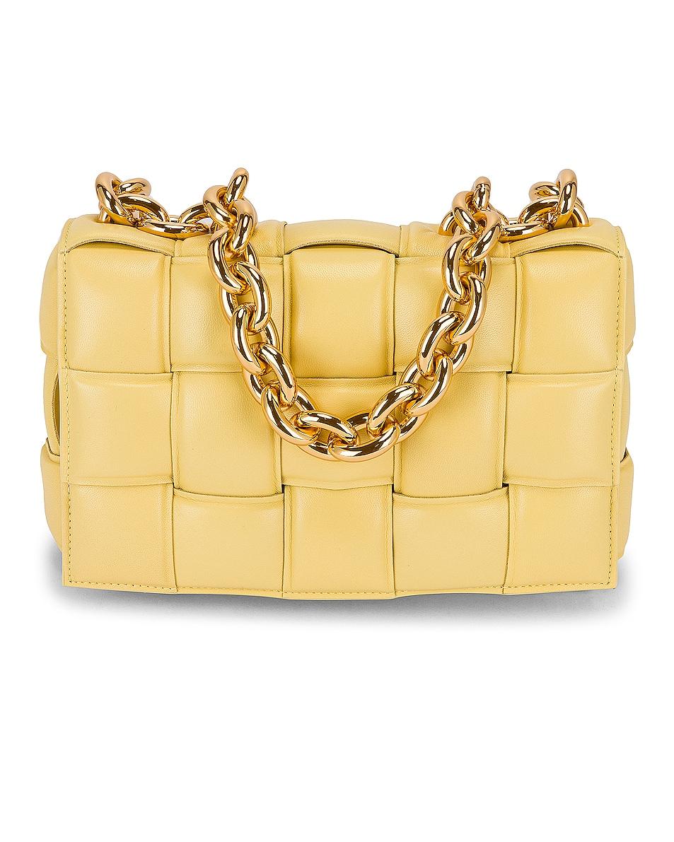 Image 1 of Bottega Veneta The Chain Cassette in Butter & Gold