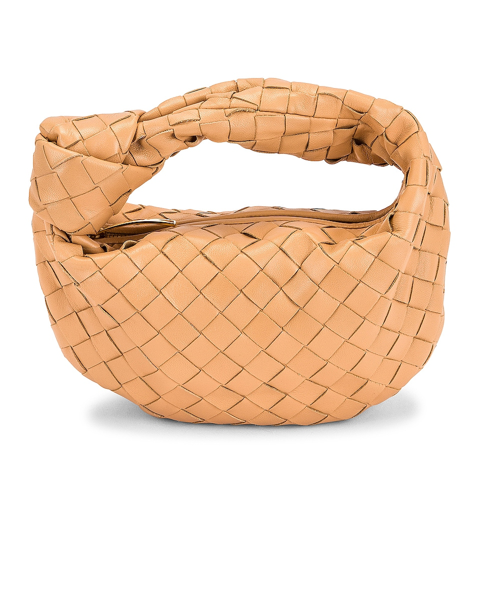 Image 1 of Bottega Veneta Mini The Jodie in Almond & Gold