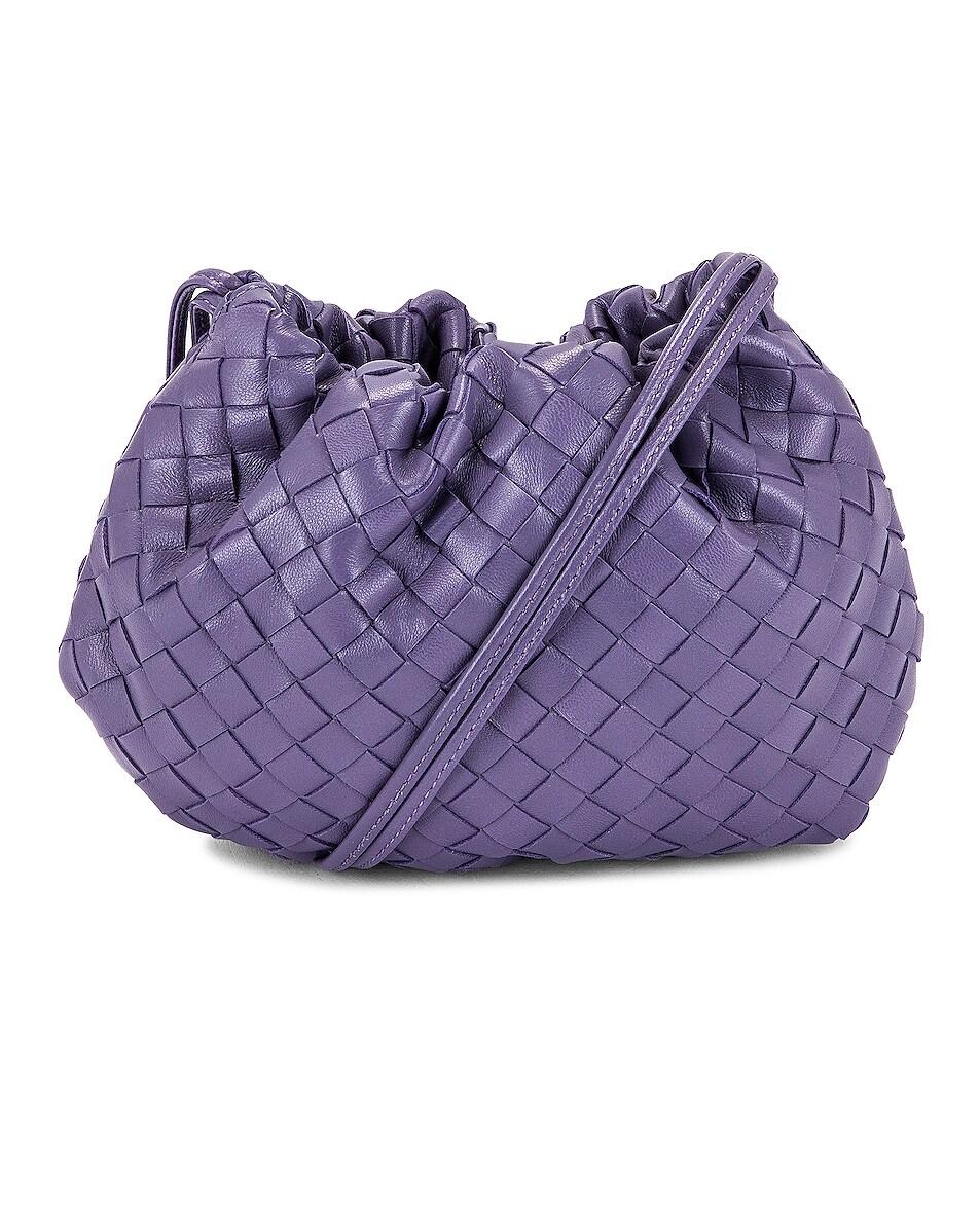 Image 1 of Bottega Veneta The Bulb Mini Bag in Lavender & Silver