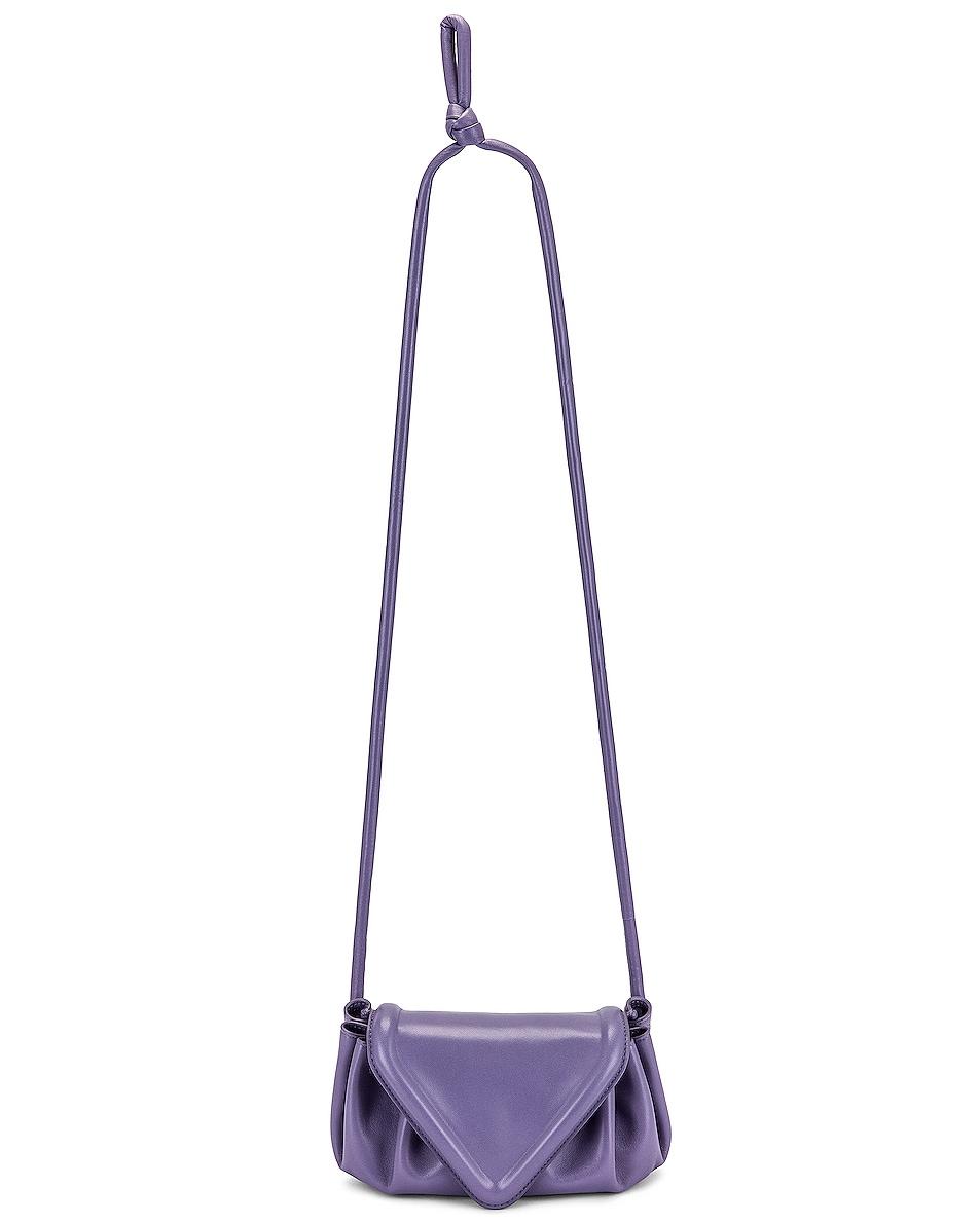 Image 1 of Bottega Veneta Small Beak Bag in Lavender & Silver