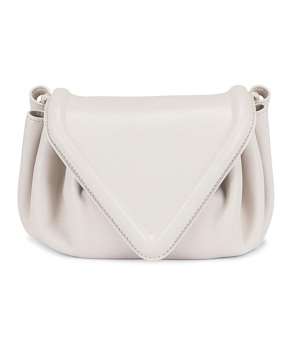 Image 1 of Bottega Veneta Small Beak Bag in Chalk & Silver