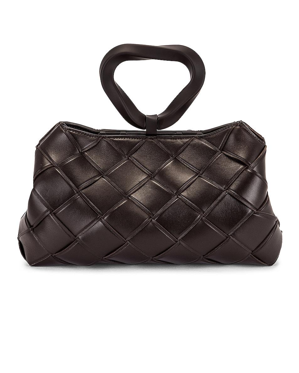 Image 1 of Bottega Veneta Grasp Top Handle Bag in Fondant & Gold