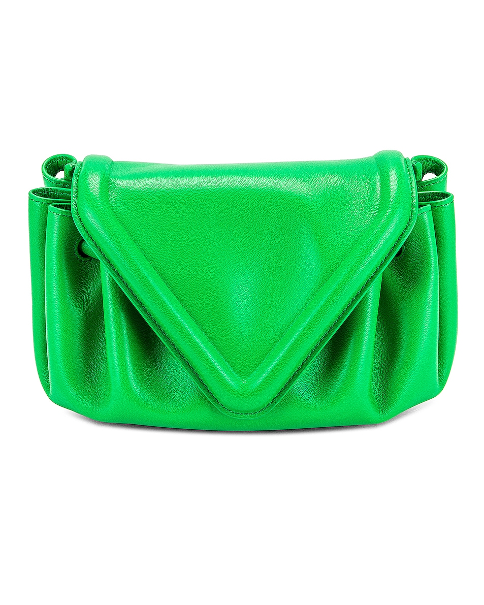 Image 1 of Bottega Veneta Small Beak Bag in Parakeet & Gold