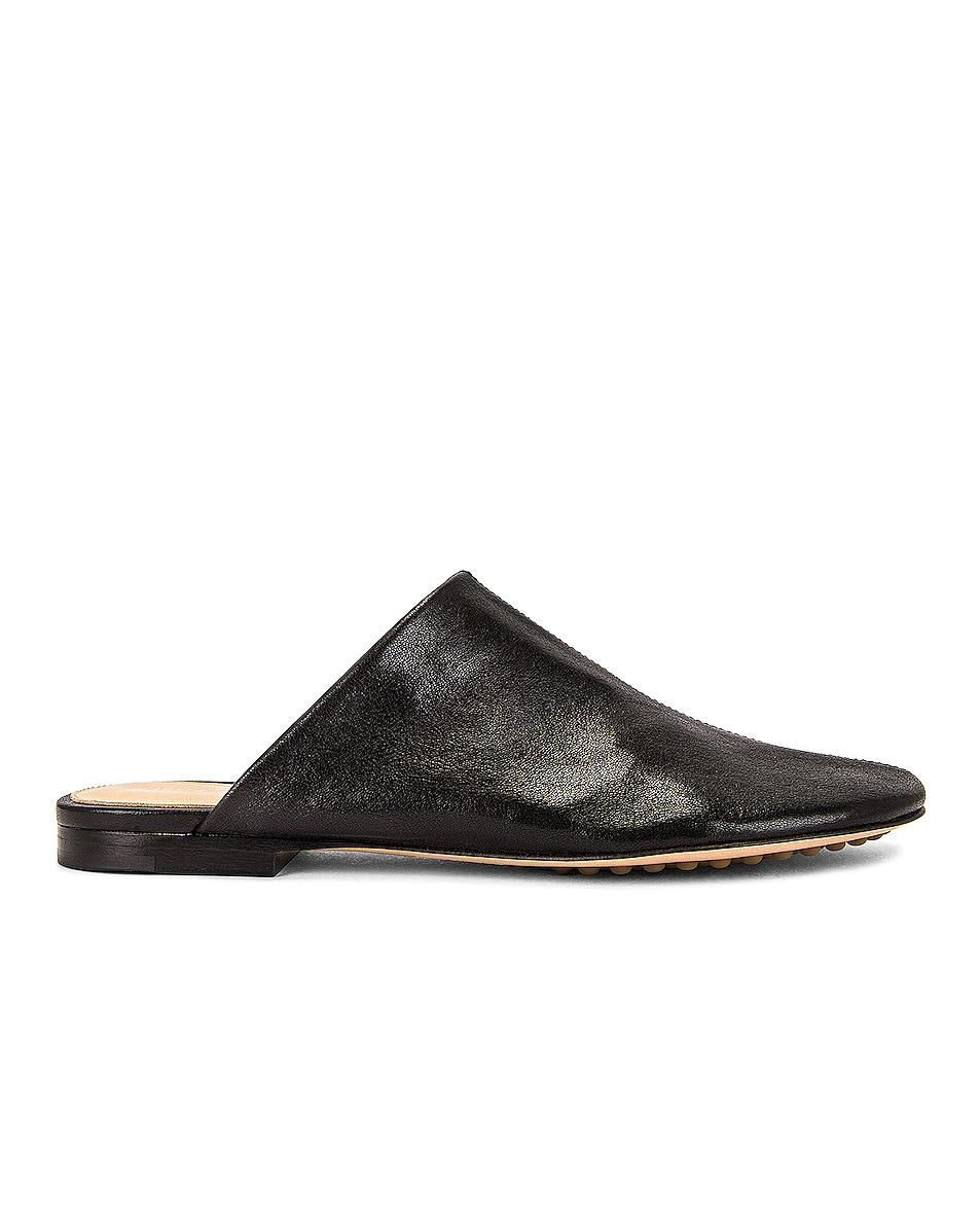 Image 1 of Bottega Veneta Dot Sock Slippers in Black