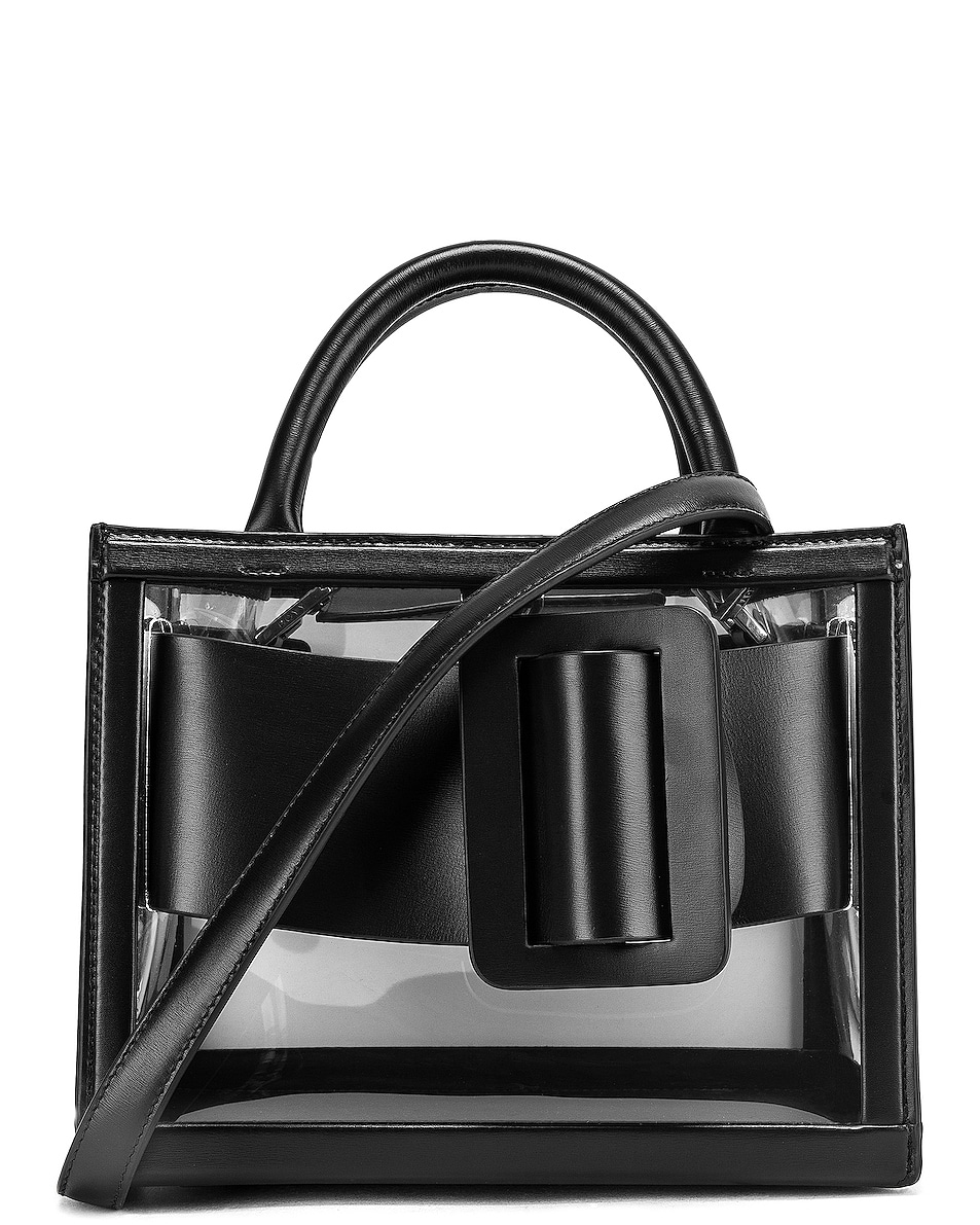 Image 1 of Boyy Bobby 23 Bag in Clear & Black