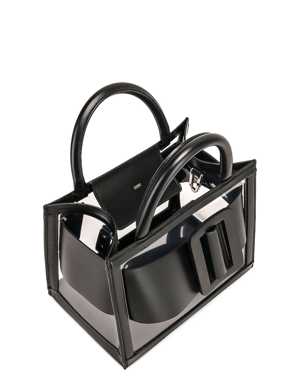 Image 5 of Boyy Bobby 23 Bag in Clear & Black