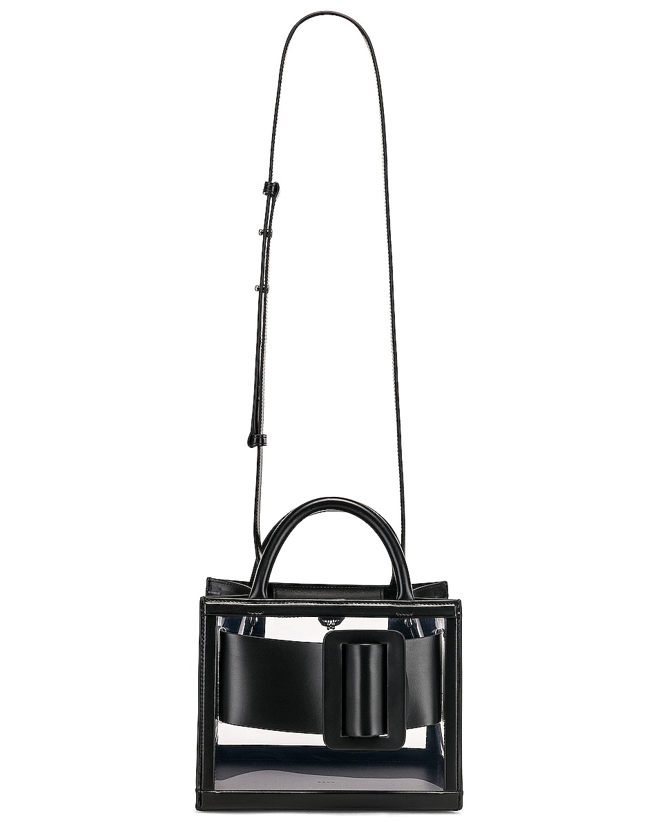 Image 6 of Boyy Bobby 23 Bag in Clear & Black