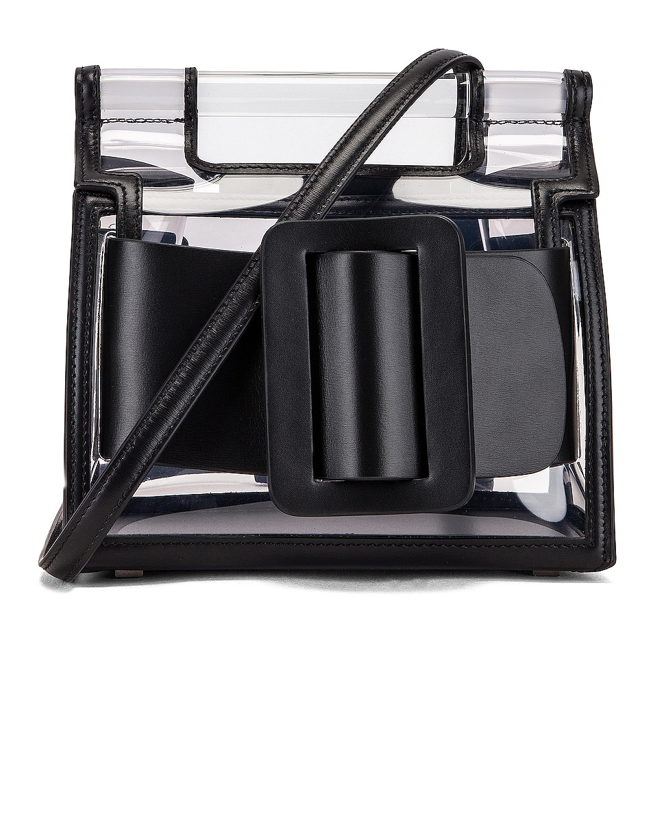 Image 1 of Boyy Romeo Bag in Clear & Black