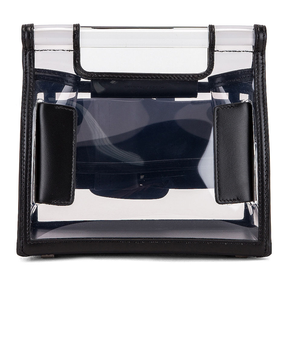 Image 3 of Boyy Romeo Bag in Clear & Black