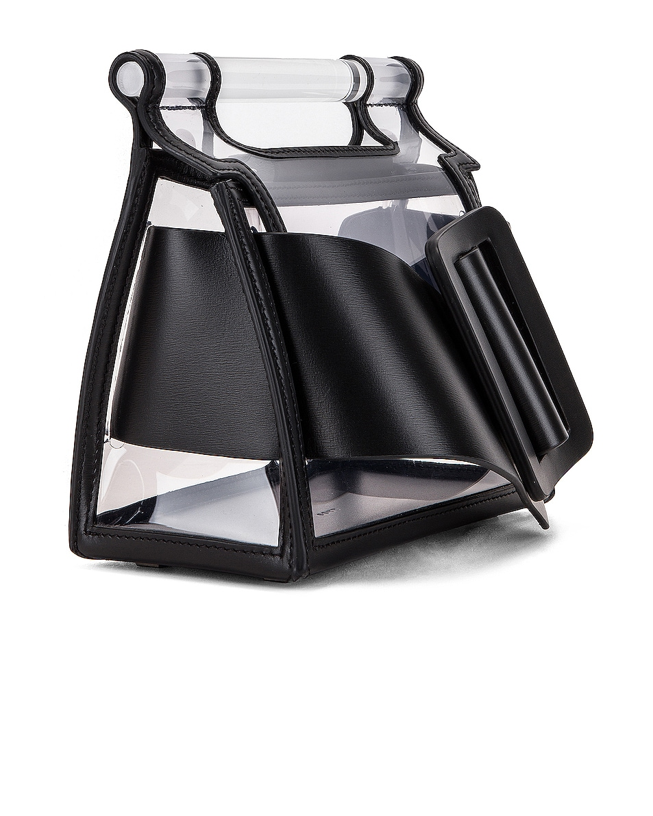 Image 4 of Boyy Romeo Bag in Clear & Black