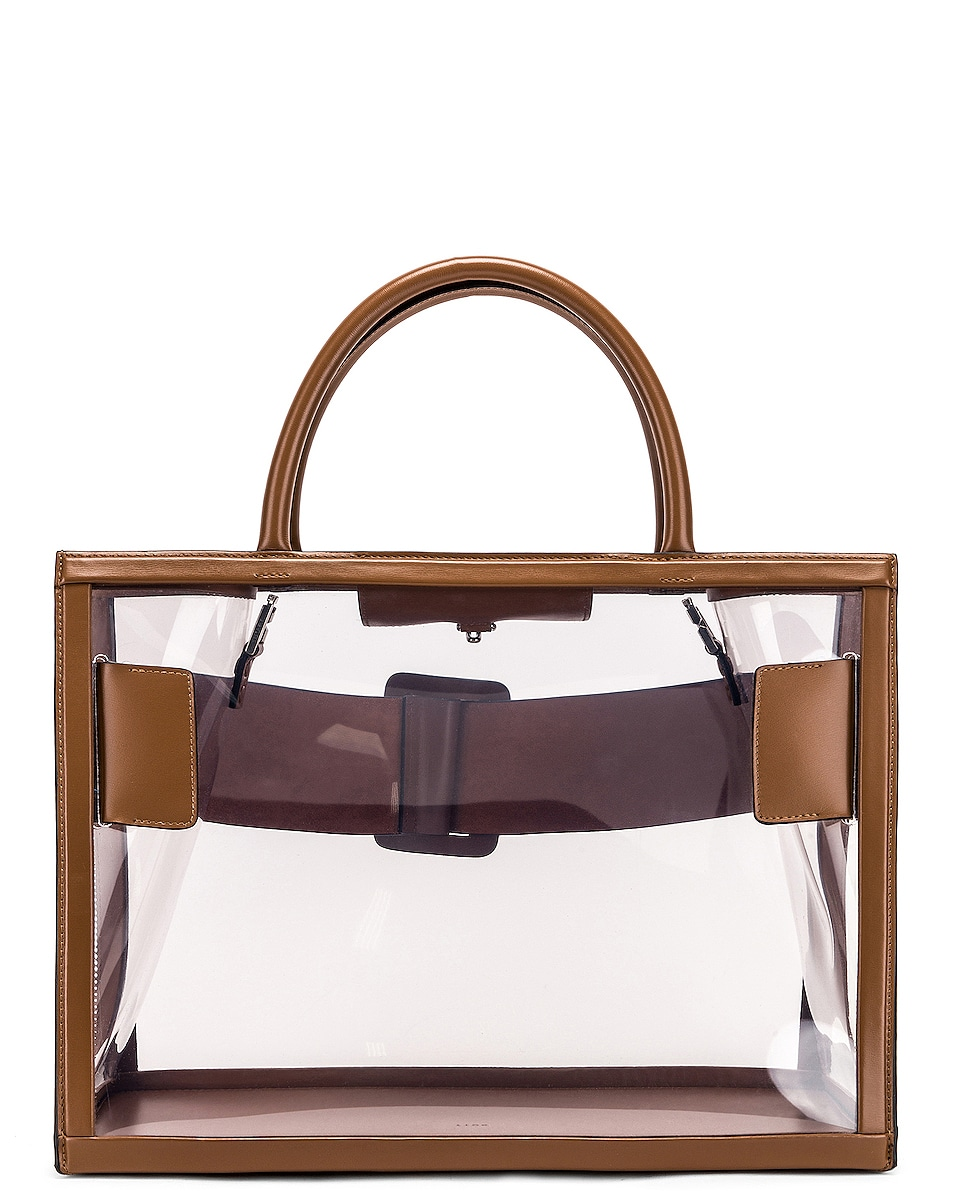 Image 3 of Boyy Bobby 38 Bag in Clear & Toffee